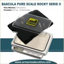 Báscula Pure Scale Rocky Serie II (100 GR. x 0.01)