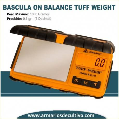 Báscula On Balance Tuff Weight (1000 Gr. x 0.1)