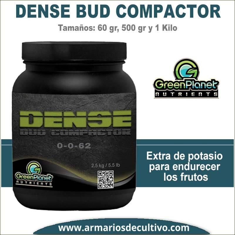 Dense Bud Compactor (60 gr, 500 gr y 1 kilo) - Green Planet