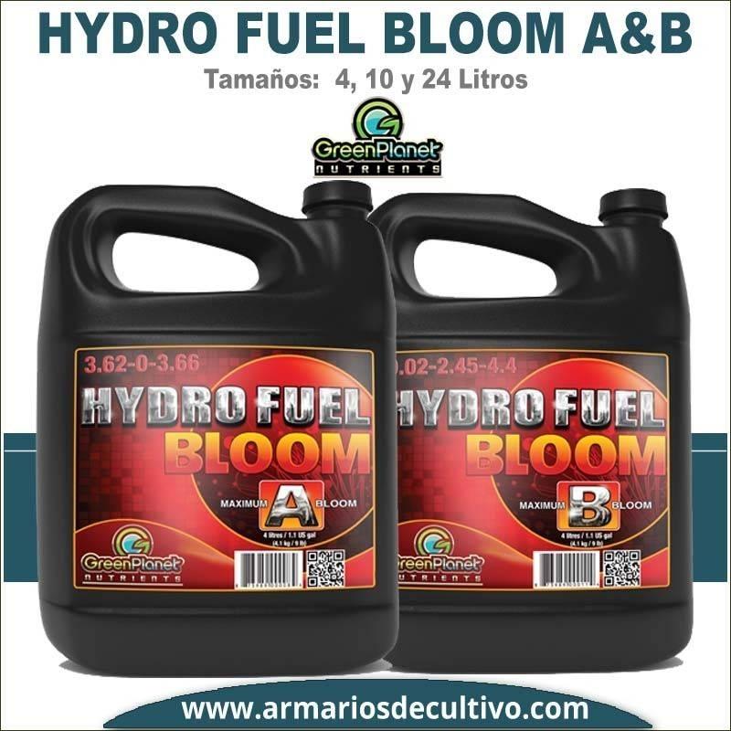 Hydro Fuel Bloom A&B (4, 10 y 24 Litros) – Green Planet