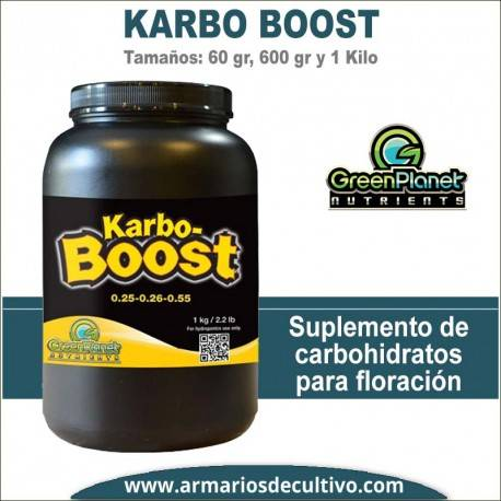 Karbo Boost (60 gr, 600 gr y 1 kilo) – Green Planet