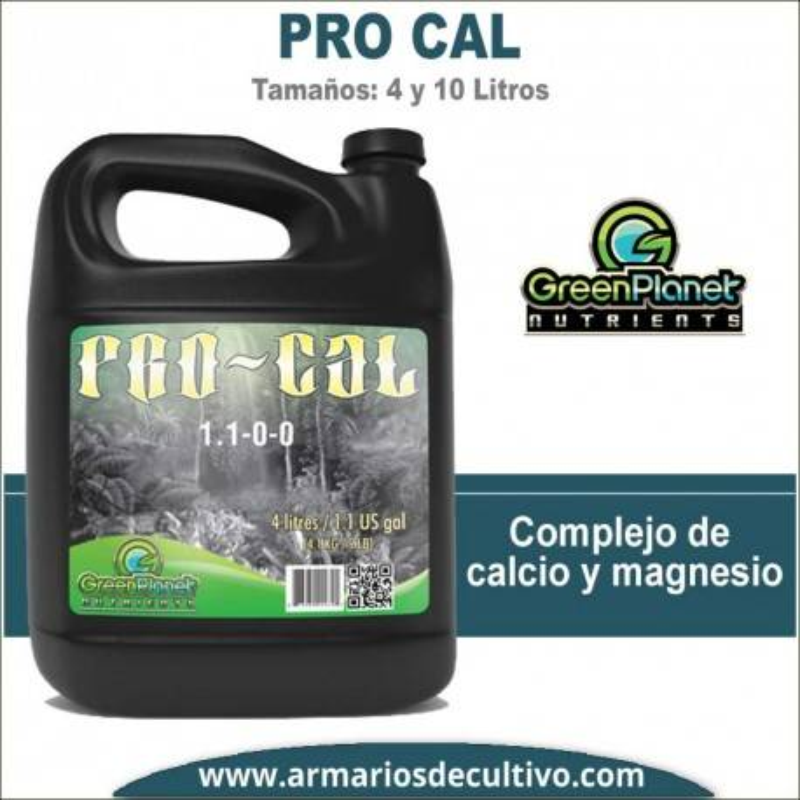 Pro Cal (4 y 10 Litros) - Green Planet