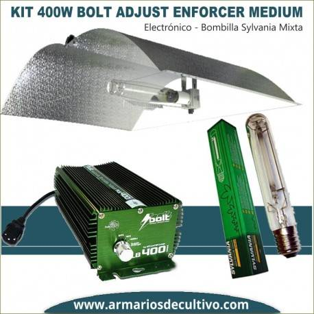 Kit 400w Bolt Adjust Enforcer Medium Sylvania Grolux