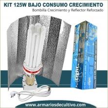 Kit de Bajo Consumo 125w Crecimiento