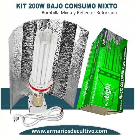 Kit Bajo Consumo 200w Mixto