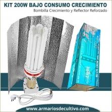 Kit Bajo Consumo 200w Crecimiento