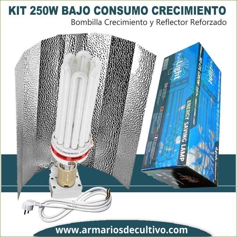 Kit Bajo Consumo 250w Crecimiento