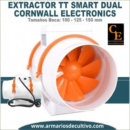 Extractor Cornwall Electronics TT Smart Dual