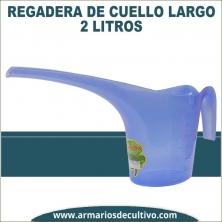 Regadera de cuello largo 2 litros
