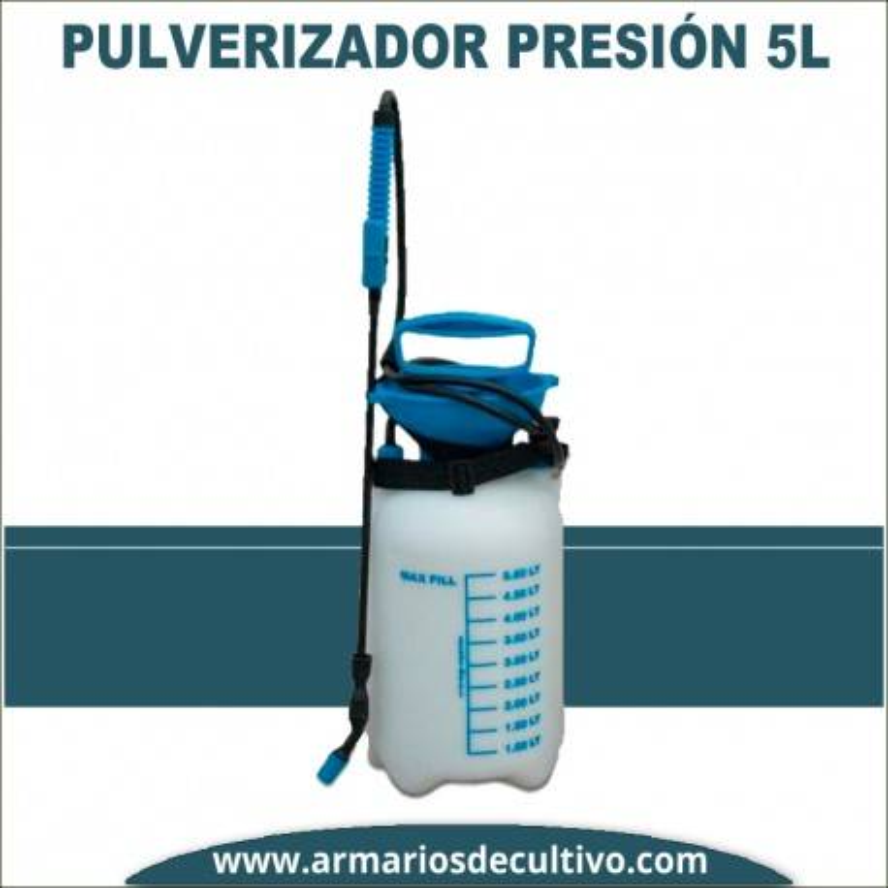 Pulverizador presión 5 litros