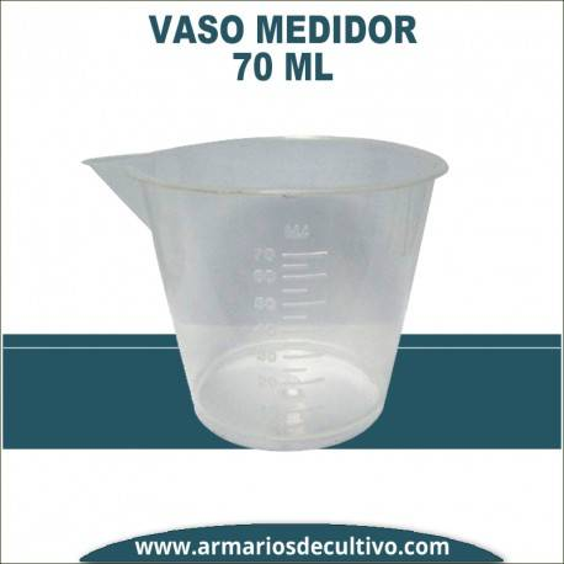 Vaso de medida 70 ml
