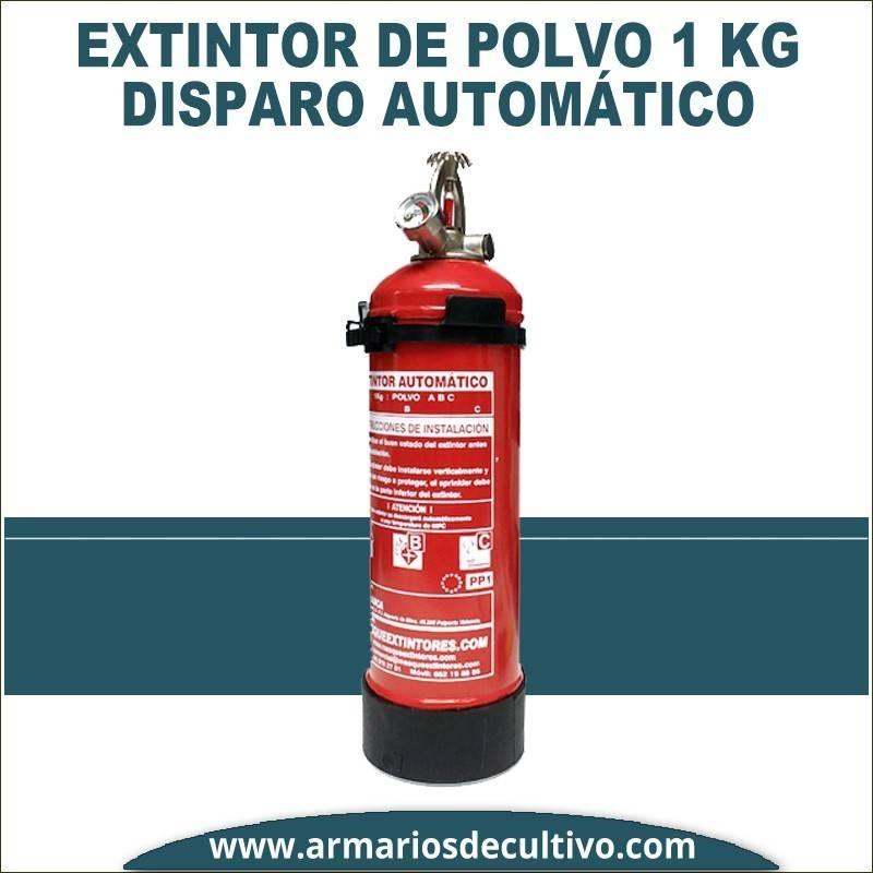 Extintor automático de polvo ABC 1kg