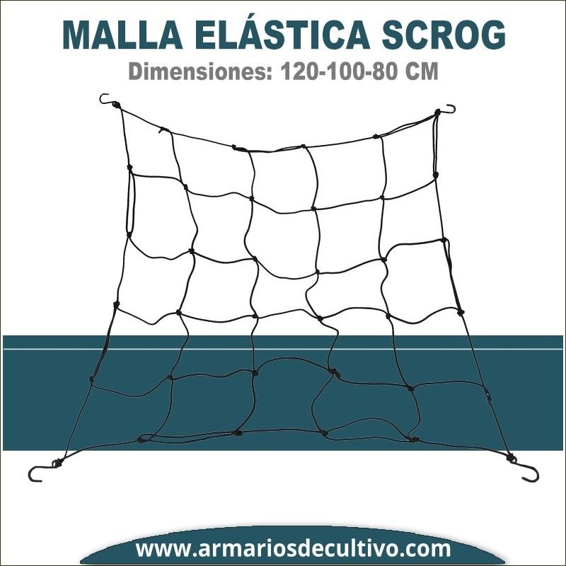 Malla SCROG elástica 80-100-120