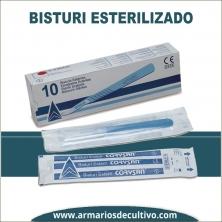 Bisturí esterilizado