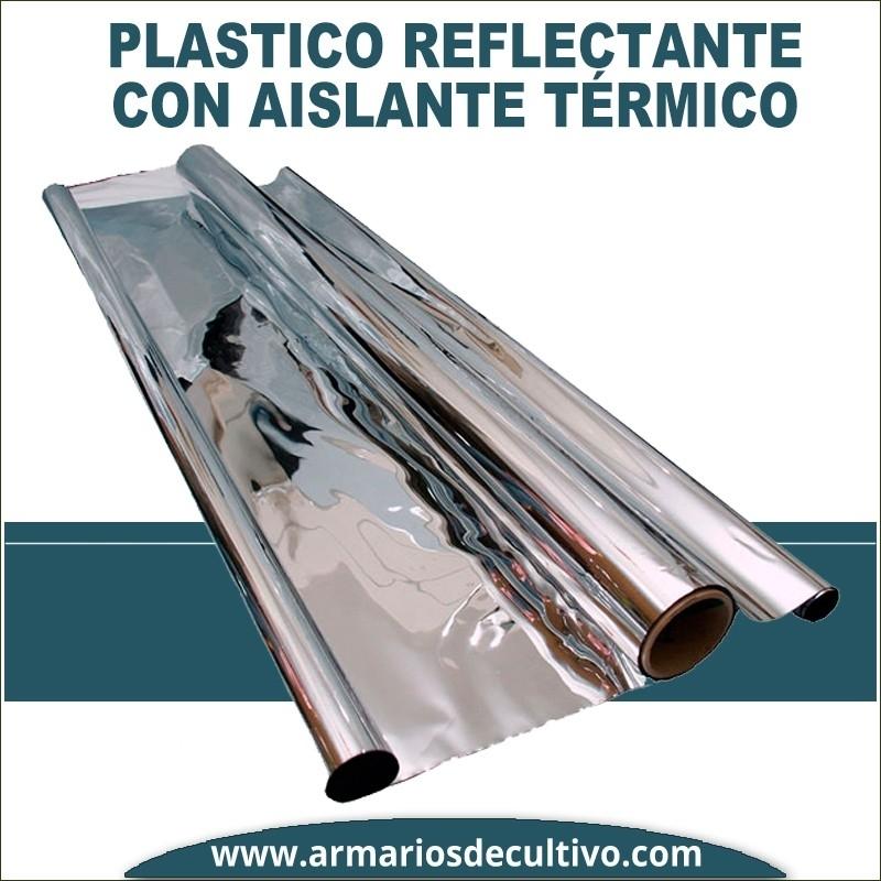 Plástico Reflectante Plateado Anti Detección
