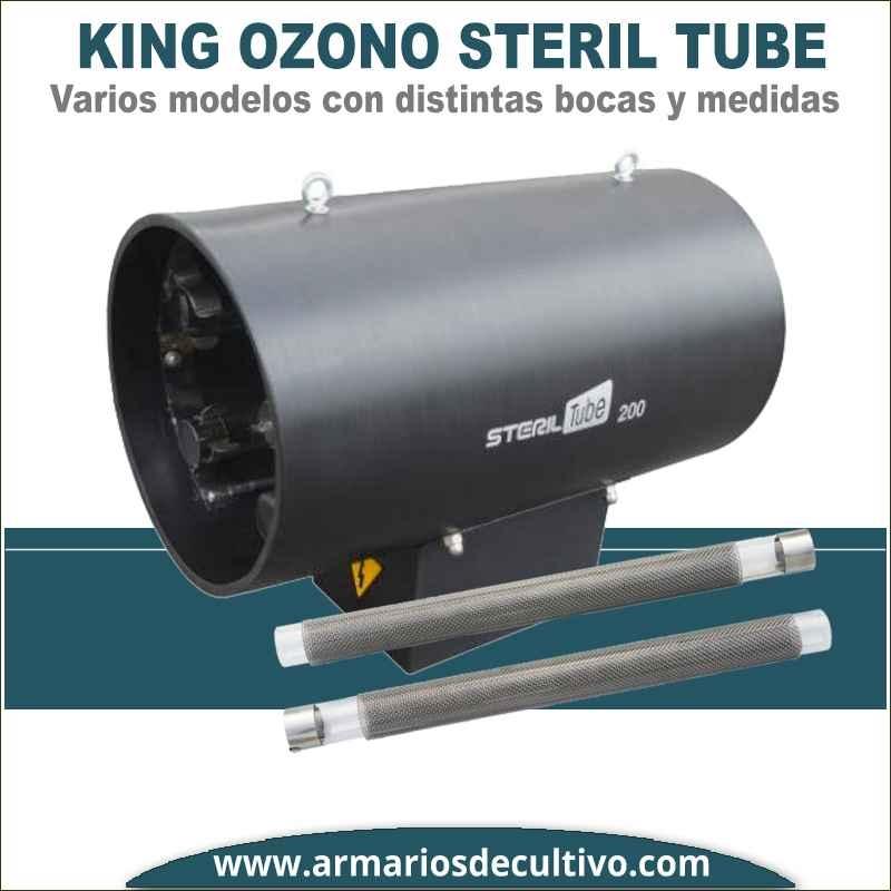 Steril Tube Bombilla de recambio para ozonizador King Ozono