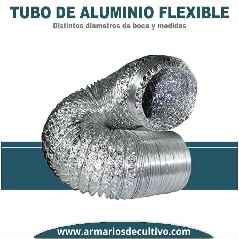 Tubo de aluminio flexible