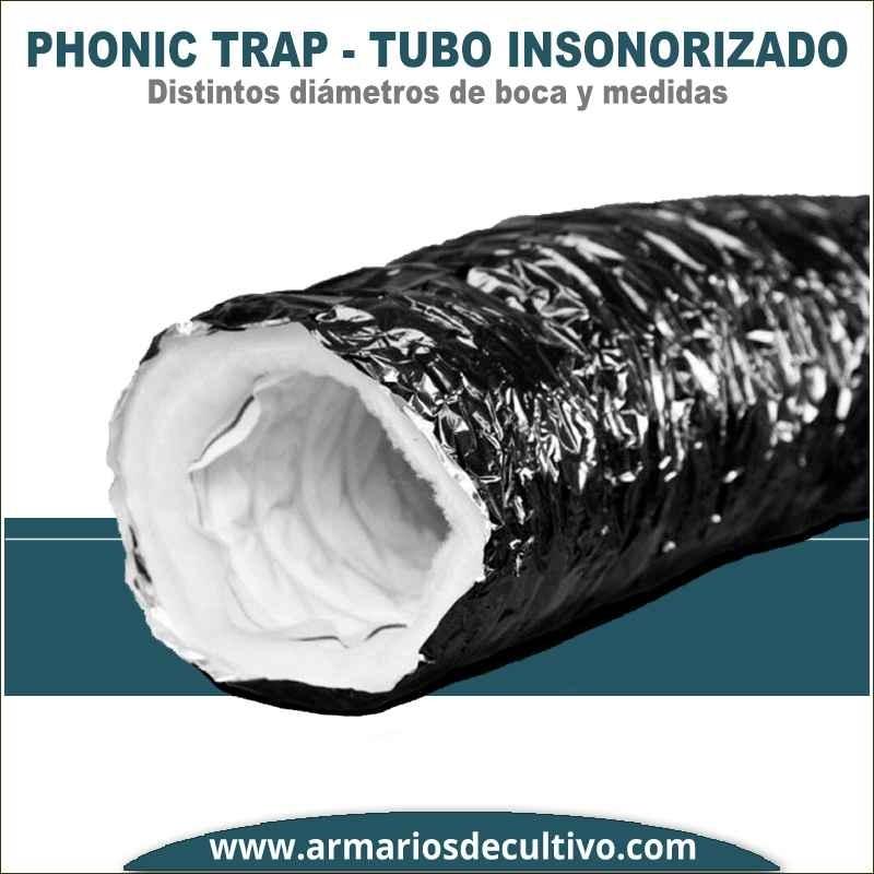 Tubo Phonic Trap insonorizado