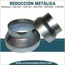 Reducción metálica