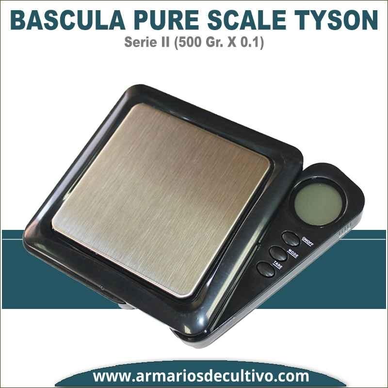Báscula Pure Scale Tyson Serie II (500 GR. x 0.1)