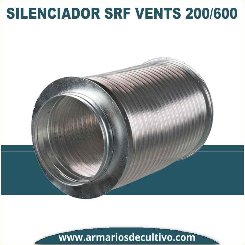 Silenciador SRF 200/600 de Vents