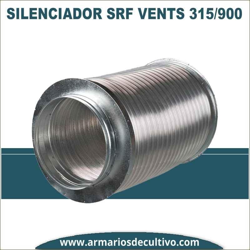 Silenciador SRF 315/900 de Vents