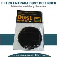 Dust Defender Filtros de entrada