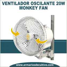 Monkey Fan 20w Ventilador Oscilante