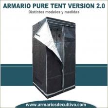 Armario de cultivo Pure Tent Versión 2.0