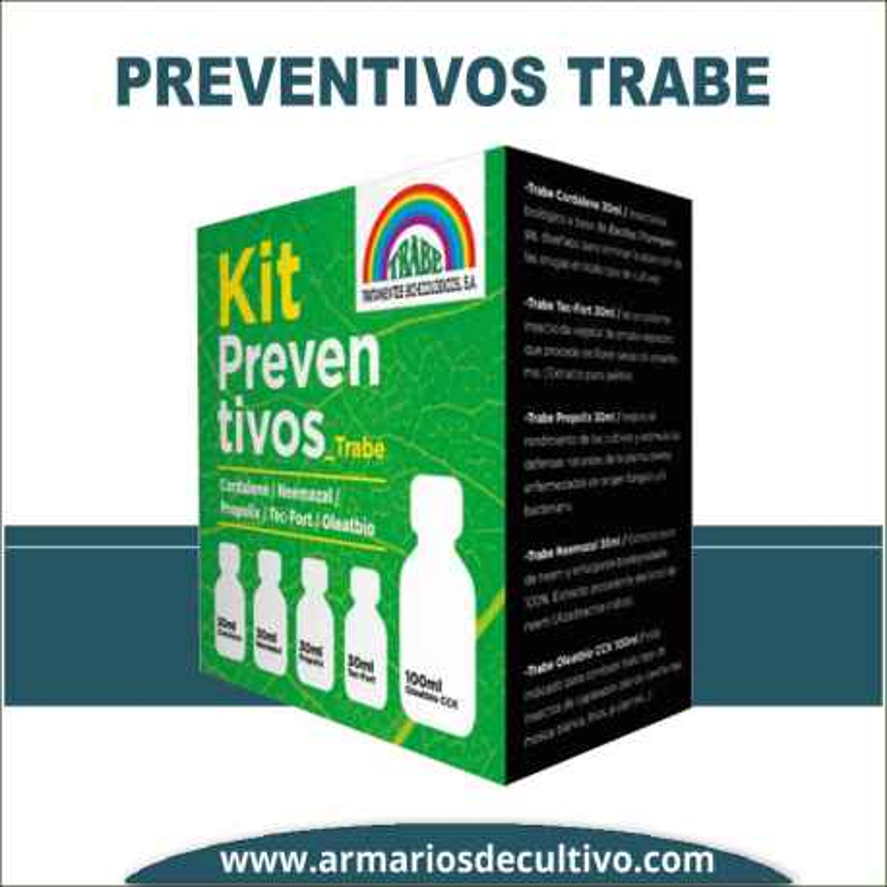 Trabe Kit Preventivos – Pack de insecticidas