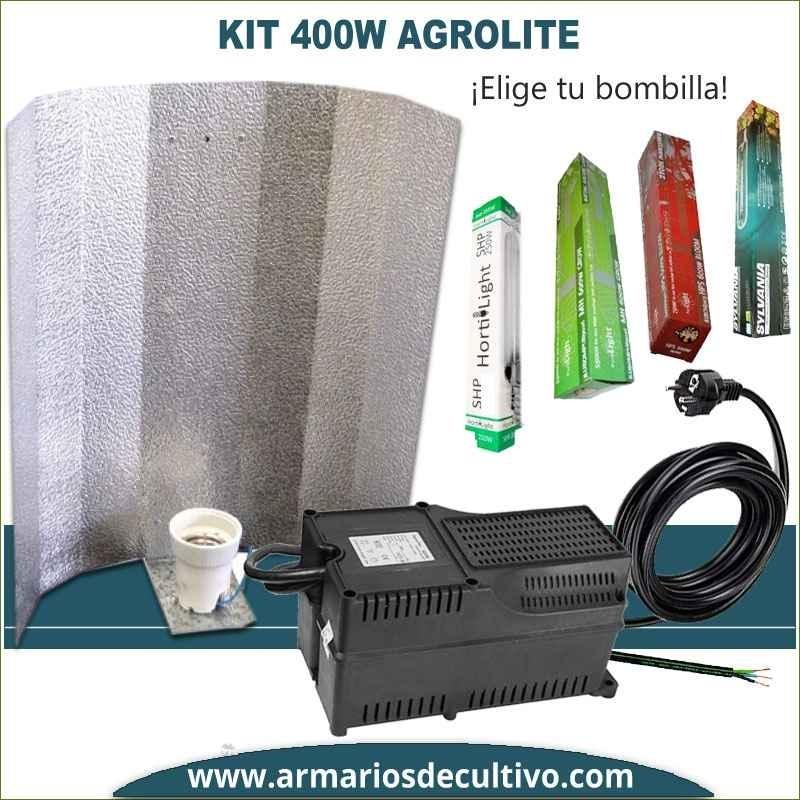 Kit de iluminación 400w Agrolite Clase 2