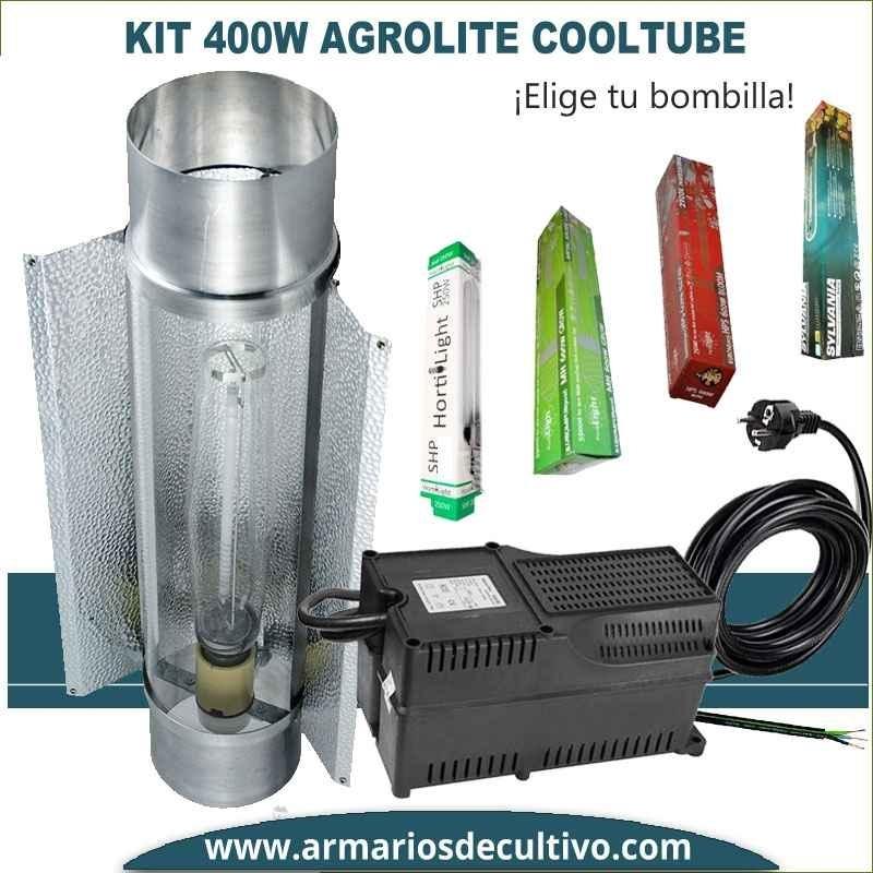 Kit 400w Agrolite Cooltube 125