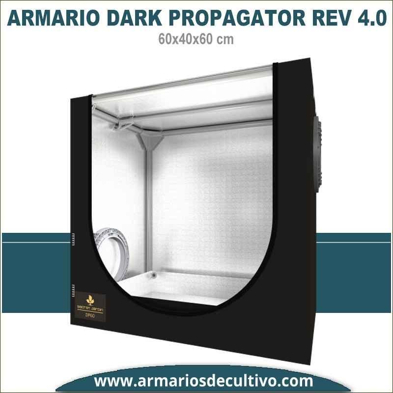 Armario de cultivo Dark Propagator 60x40x60 4.0