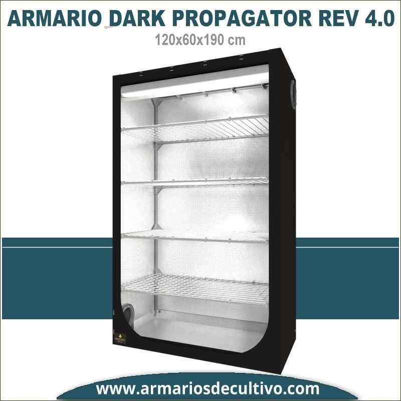 Armario de cultivo Dark Propagator 120x60x190 4.0