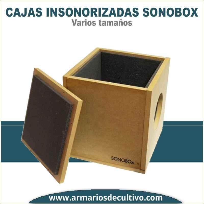 Caja Insonorizada Sonobox - Extractores Tubulares
