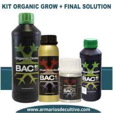 Kit Organic Grow + Final Solution