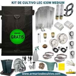 Kit Armario de Cultivo LEC 630w Medium