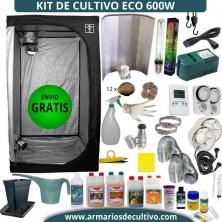 Kit Armario de Cultivo 600w Eco