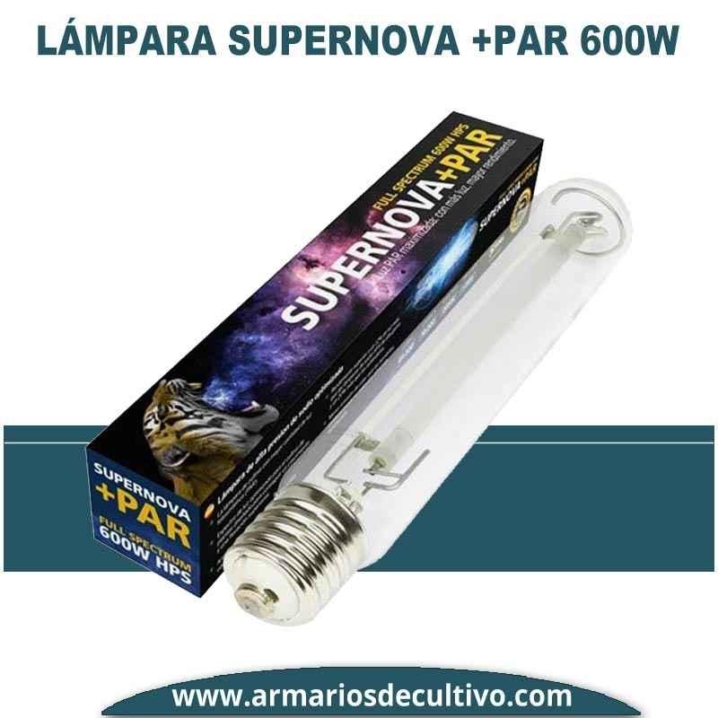 Bombilla Supernova + PAR 600w