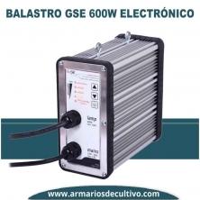 Balastro GSE Electrónico Regulable 600w