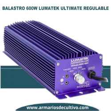 Balastro Lumatek Ultimate Pro 600w Electrónico