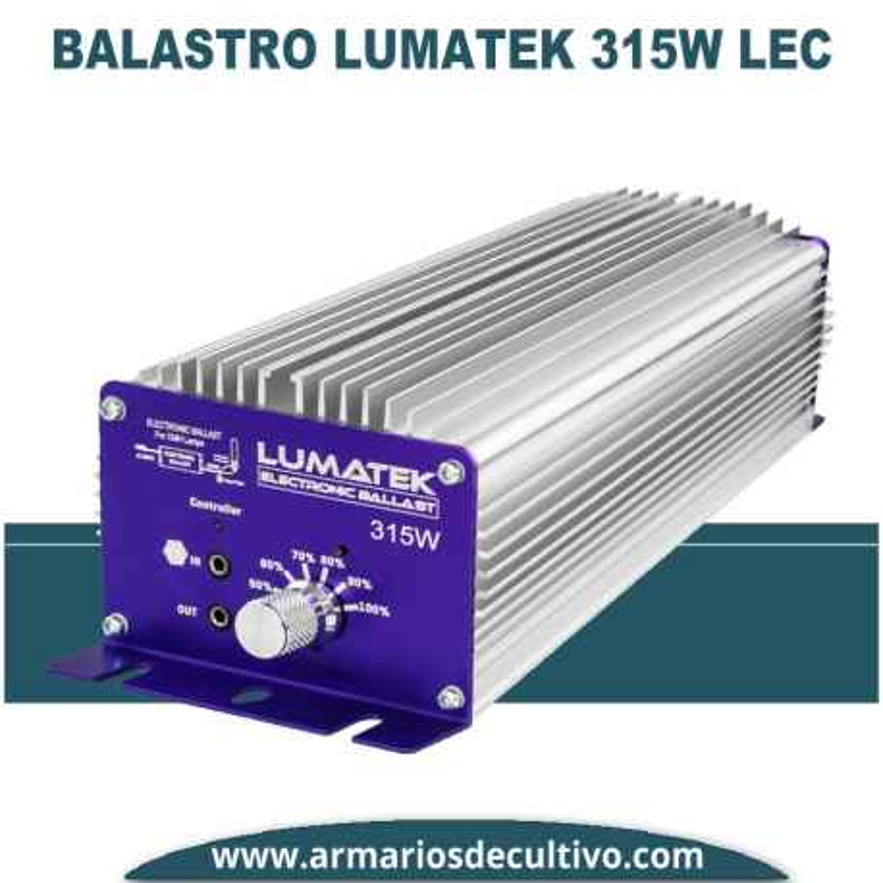 Balastro Lumatek 315w LEC Electrónico Regulable