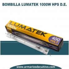 Bombilla 1000w Lumatek DE 400V