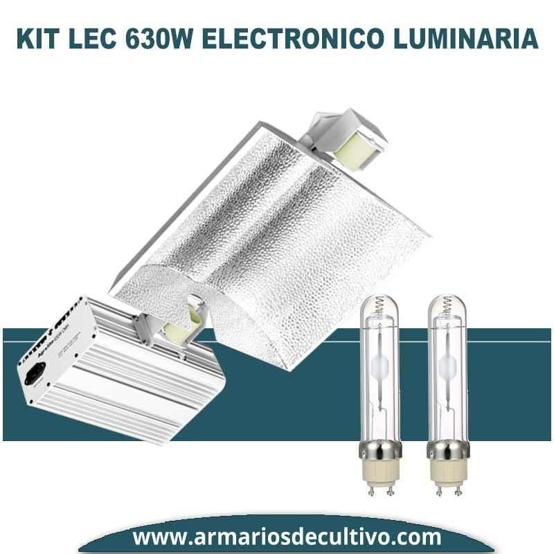 Kit LEC 630w Electrónico Luminaria