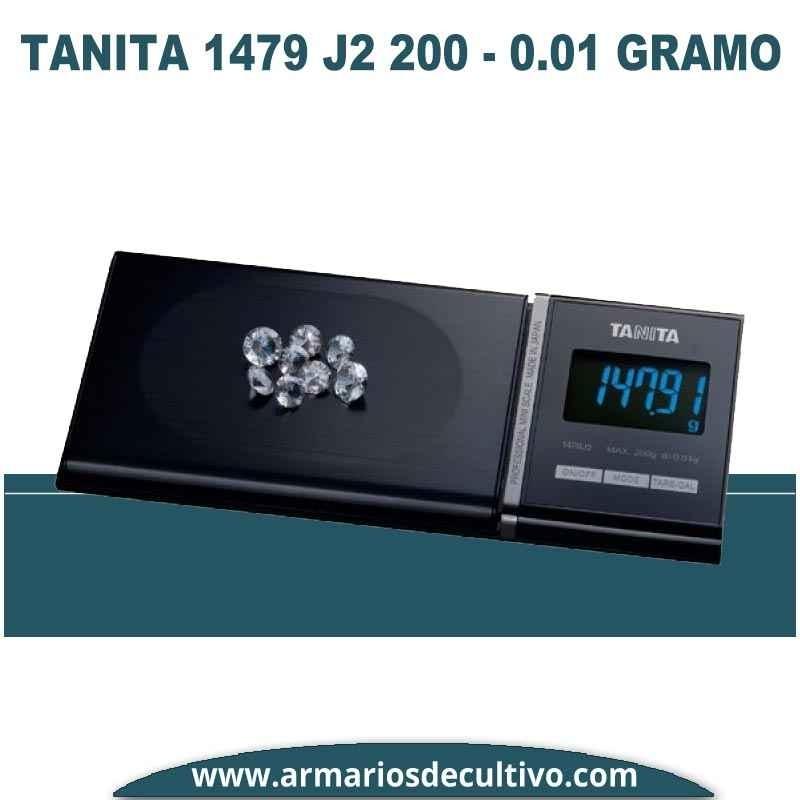Báscula Tanita 1479 J2 (200 gr x 0.01)