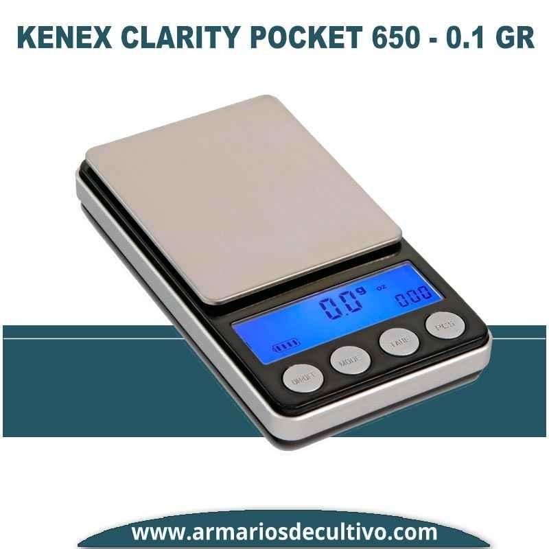 Báscula Kenex Clarity Pocket (650 gr x 0.1)