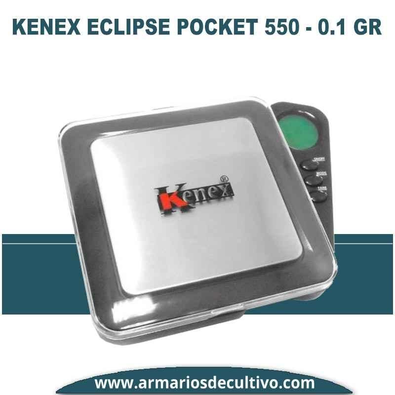 Báscula Kenex Eclipse Pocket (550 gr x 0. 1)