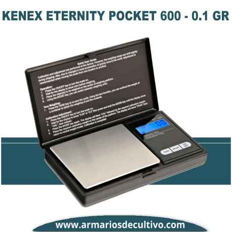 Báscula Kenex Eternity Pocket (600 gr x 0.1)