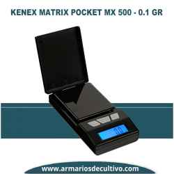 Báscula Kenex Matrix Pocket (500 gr x 0.1)