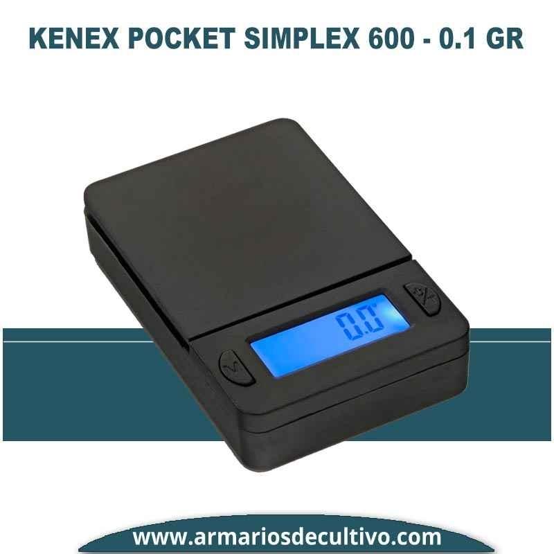 Báscula Kenex Pocket Simplex (600 gr x 0.1)